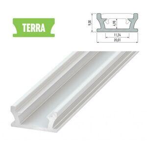 LEDLabs Hliníkový profil LUMINES TERRA 1m pro LED pásky, bílý lakovaný